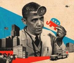 Obama Scare lincoln Agnew