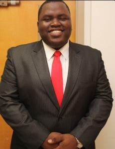SGA President Kevin Dixon
