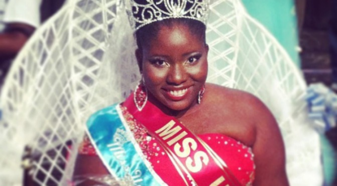 Miss UVI Competes for Miss NBCA Hall of Fame