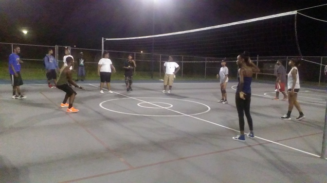 It's Volleyball Season at UVI