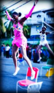 Caption DeLanni performs chair stunts during Smith Bay Carnival 2012 Photo Credit Naheem Mason