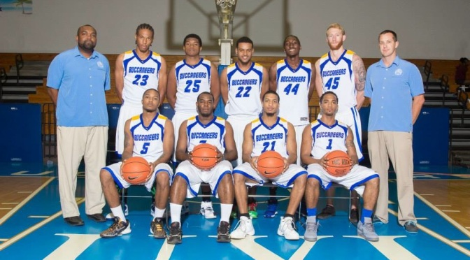 Buccaneers Male Basketball Team
