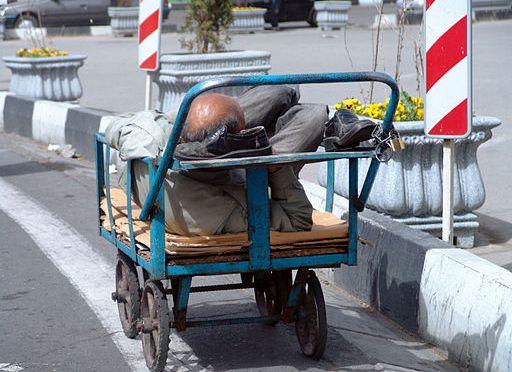 Homeless in paradise