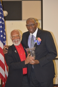 President Dr. Hall and Dr. Simon Jones-Hendrickson
