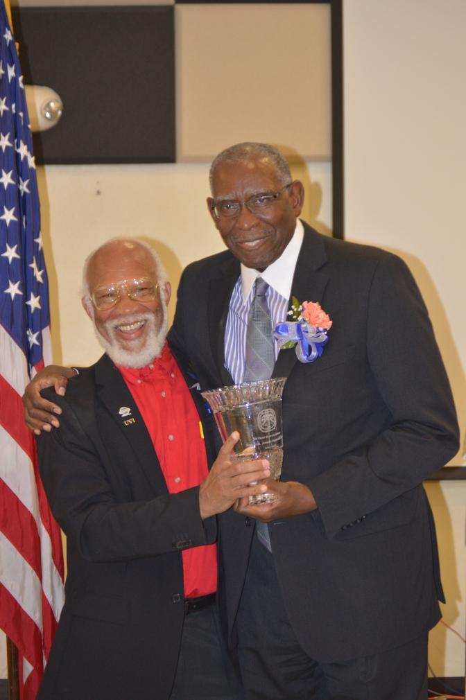 President Dr. Hall and Dr. Simon Jones-Hendrickson