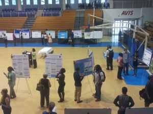 Research Day activity at the UVI Sports and Fitness Center, St. Thomas campus.  Photo by CORLISS SMITHEN.