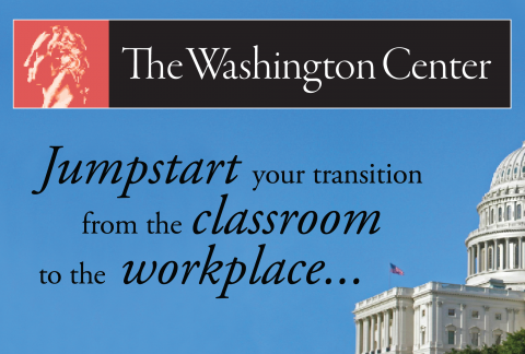 Eight prepare to participate in The Washington Center internship program this summer.