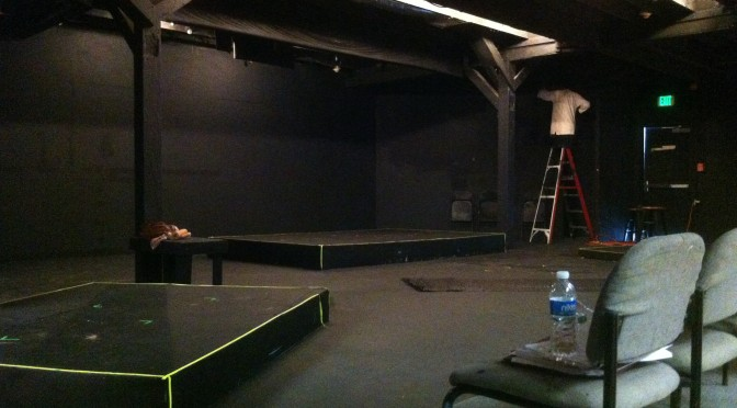The Little Theater Painted Black