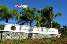 St. Thomas Campus entrance sign. File photo from UVI's website