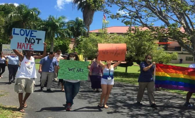 UVI CELEBRATES DAY OF SILENCE